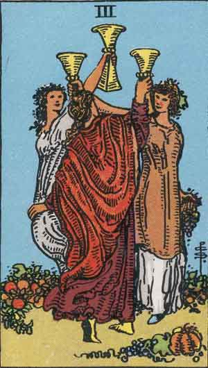 three of cups reversed relationship