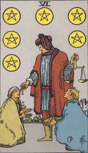 The Pentacles Tarot Cards