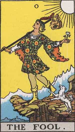 Tarot Card Meanings - The Major Arcana Tarot Cards 0 through 10